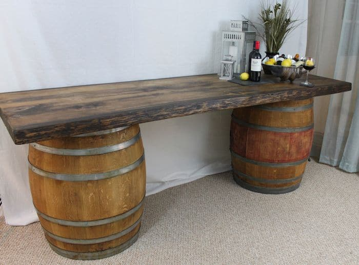 easy wooden barrel projects whiskey barrel coffee table